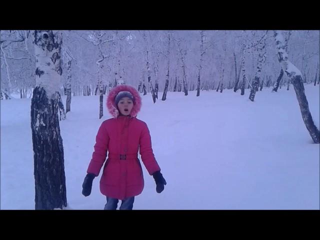 Изображение предпросмотра прочтения – ЛюбовьСеребренникова читает отрывок изпроизведения «Мороз, Красный нос» Н.А.Некрасова