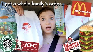 Download Letting The Person in FRONT of me DECIDE What I Eat for 24 HOURS!! Mp3 and Videos