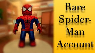 ROBLOX SPIDER-MAN ACCOUNT GIVEAWAY 2019
