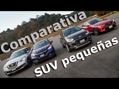 HRV VS Trax VS CX3 VS Kicks - Comparativa camionetas pequeñas | Autocosmos