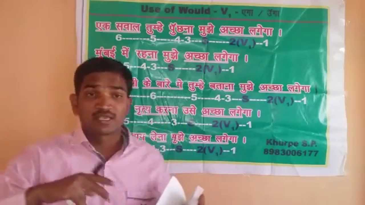 English speaking course in hindi full version spoken learning videos class grammar youtube