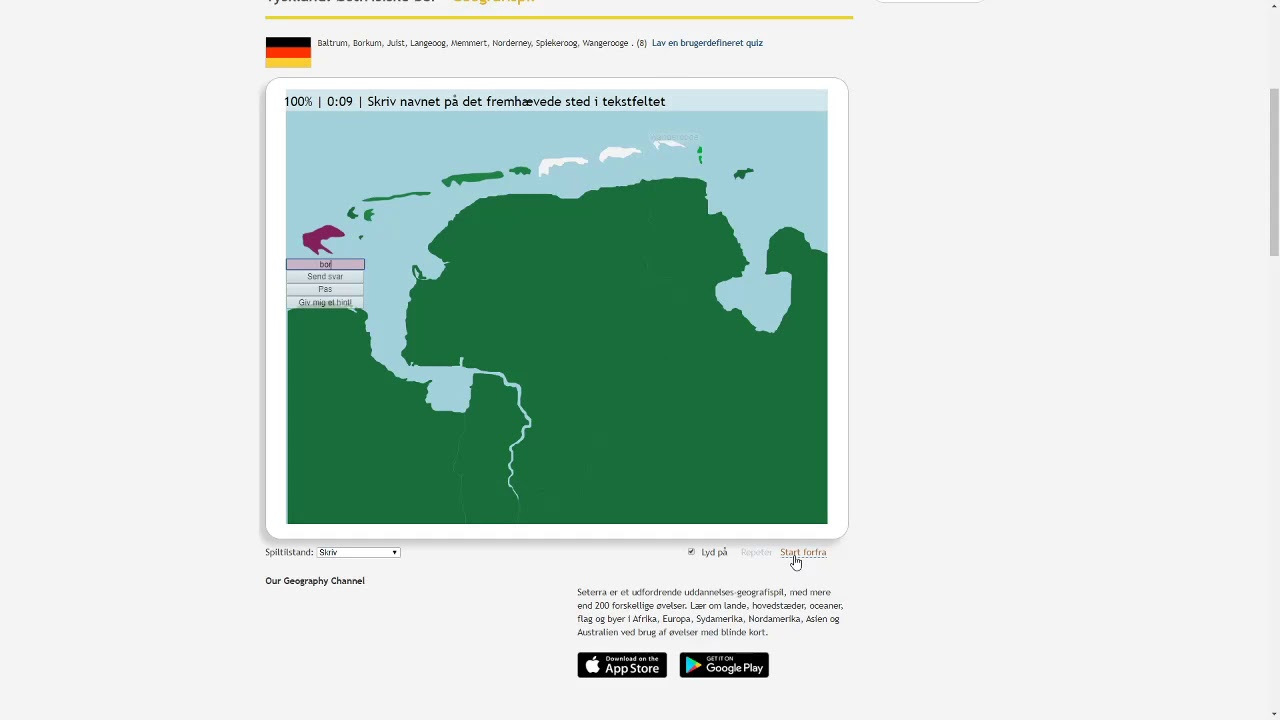 Wr Seterra East Frisian Islands Type Website 0 16 Youtube