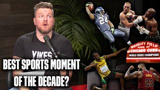Pat McAfee's Best Sports Moments Of The Decade
