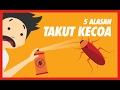 5 Alesan Takut Kecoa