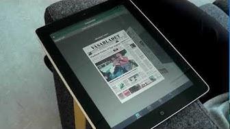 Vasabladet och Österbottens tidnings Ipad App