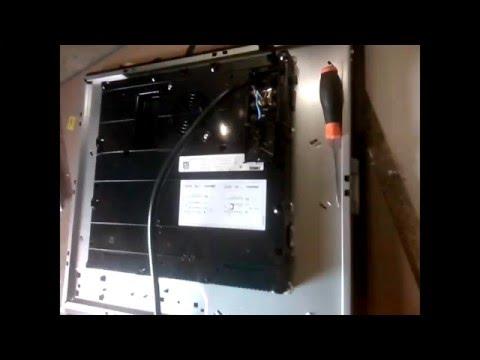 Как подключить индукционную печь варочную поверхность электрическую ZANUSSI ZEI 5680 FB к сети 220В.
