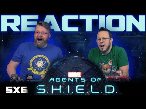 """Agents of Shield 5x6 REACTION!! """"Fun & Games"""""""