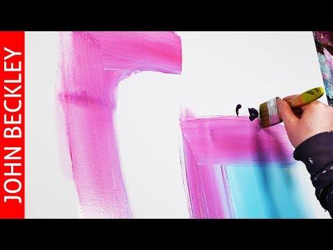 Cours de peinture abstraite - Desire