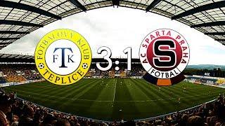 FK Teplice - AC Sparta Praha | 3:1 | 3.5.2014