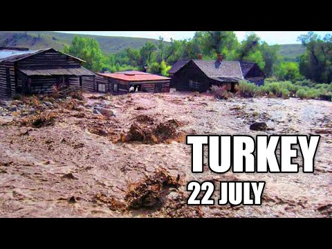 APoCALyPsE in Turkey! Artvin city is drowned! The biggest flood in the history of the country!
