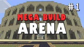 Minecraft Mega Build: PvP Arena [PART 1]