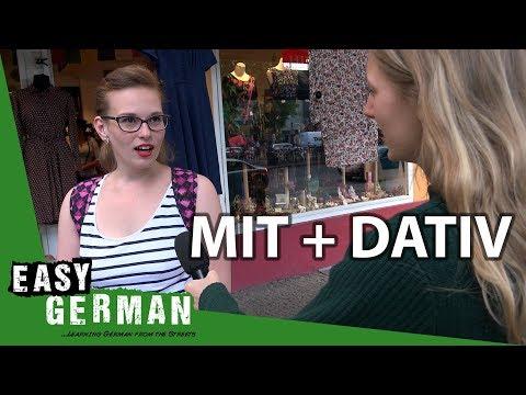 Mit + Dative | Super Easy German (72)