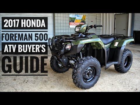 2017 Honda FourTrax Foreman 500 ATV Model Lineup Explained / Differences / Model ID Breakdown