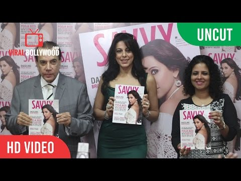 UNCUT - Pooja Bedi SAVVY Magazine 2016 Launch | Viralbollywood