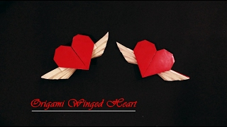 Tutorial: How to make an Origami Winged Heart