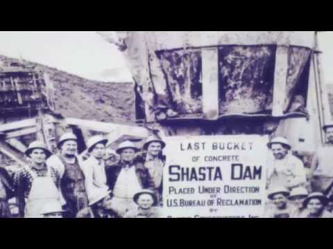Shasta Lake  Dam history