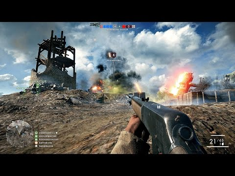 Battlefield 1 Team Deathmatch Multiplayer Gameplay PS4