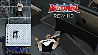 WWE 2K19 PS2 Wrestlemania 32 Rewind : Shane McMahon Jump Off The Cell