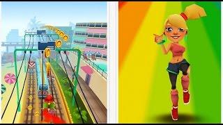 Мультик для детей ИГРА  Subway Surfers Tasha