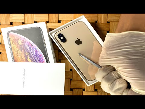 iPhone Xs Unboxing | Unboxing iPhone xs Gold | XS  Gold ASMR Unbox | Unboxing iPhone Xs