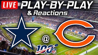 Cowboys vs Bears |  Live Play-By-Play & Reactions