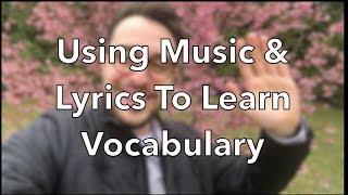 How To Learn Italian / English With Music (Video in Italian & English)