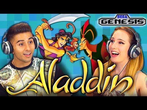 ALADDIN (SEGA GENESIS) (Teens React Retro Gaming)