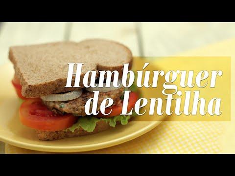 Como fazer Hambúrguer Vegano de Lentilha