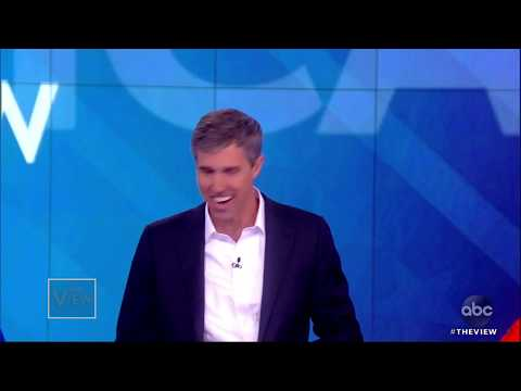 Beto O'Rourke on His Campaign and Polling Numbers   The View