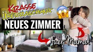 KRASSE GEBURTSTAGSÜBERRASCHUNG für Mama | Schlafzimmer Renovierung ohne, dass sie es weiß!