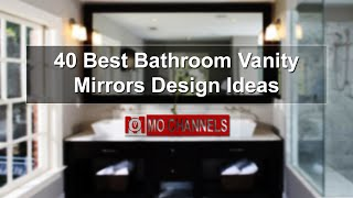 Related keyword of 40 Best Bathroom Vanity Mirrors Design Ideas: bathroom vanity sink mirror combo custom bathroom vanity