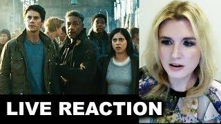 Maze Runner 3 Trailer REACTION