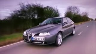 Alfa 166 car review - Top Gear - BBC