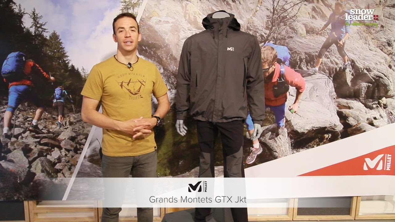 Montets Jkt Veste De MilletGrands Gtx Protection v0wNn8yOm