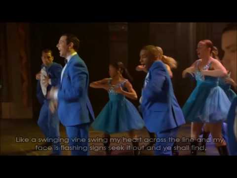 Glee - Mr.Roboto/Counting Stars (Full Performance with Lyrics)