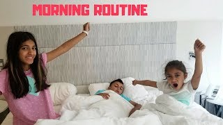 Morning Routine on Vacation NYC Hotel Edition!