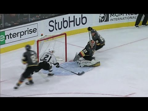 Lagace uses quick stick work to deny Kings a goal