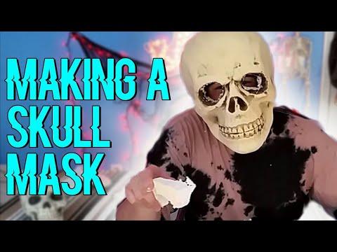 Making a Skull Mask - RadBoySolo Halloween Special