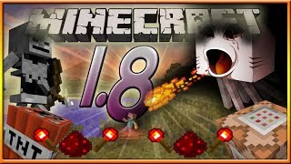Minecraft 1.8 Mob Turret Towers, Exploding Arrows & More!