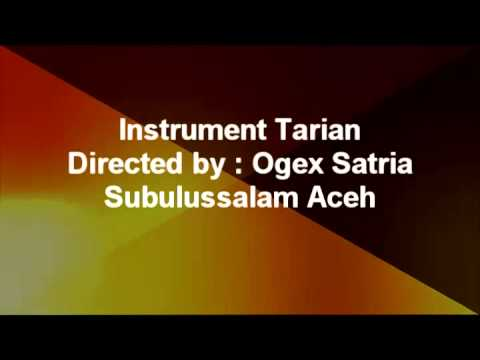 Instrument Tarian By : Ogex Satria
