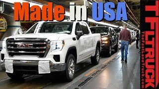 They Can Build 1,000 Chevy Silverado and GMC Sierra Trucks Per Day Right Here