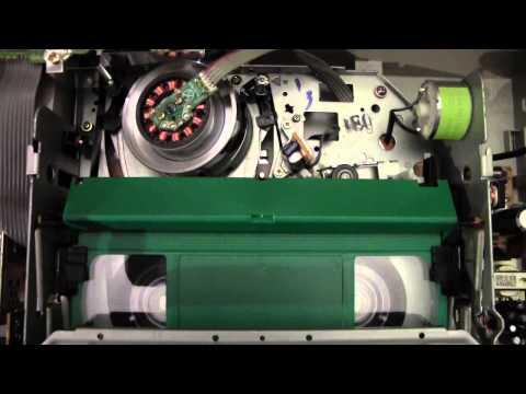 Funai 29A-650 videocassette recorder - Rewind cycle