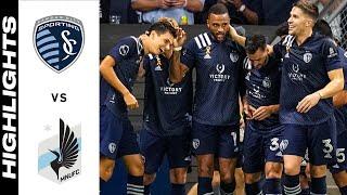 Спортинг Канзас-Сити  4-0  Миннесота Юнайтед видео