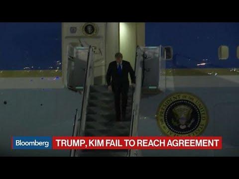 Trump, Kim Fail to Reach Agreement