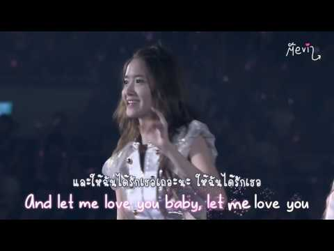 [Karaoke] SNSD - Can't take my eyes off you [Thaisub]