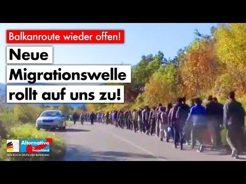 Neue Migrationswelle rollt auf uns zu! - AfD-Fraktion im Bundestag