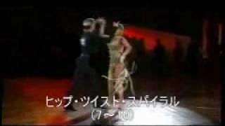 社交ダンス チャチャチャ 2005日本インター規定フィガー thumbnail
