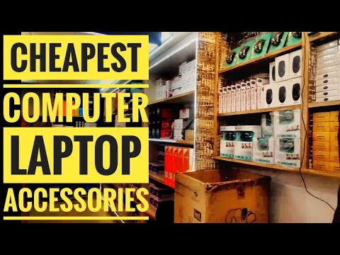 Cheapest Computer/Laptop accessories | Harddisk, Keyboard, Mouse, Speakers, Ram | Wazirpur Market