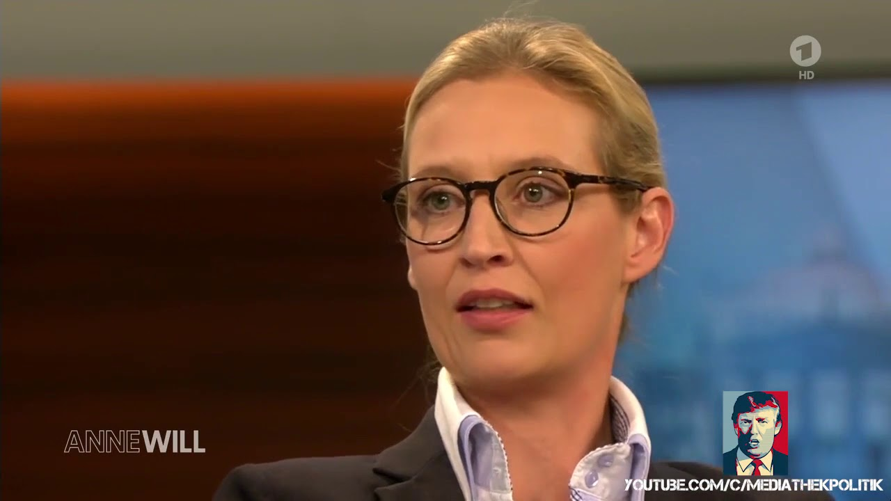 Alice Weidel(AfD) bei Anne Will am 20.08.2017 - YouTube