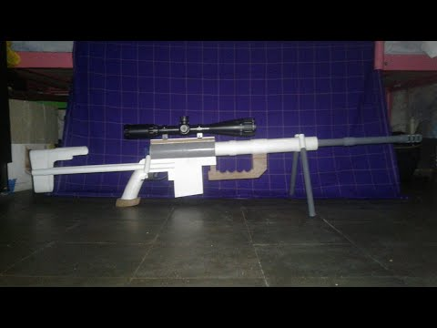 How to make Cheytac M200 from paralon